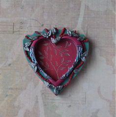 clay hearts - Google Search