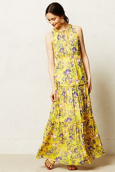 Maravilla Maxi Dress - anthropologie.com