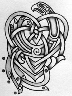Celtic Motherhood knot with Kells style knot by Tattoo-Design.deviantart.com on @deviantART