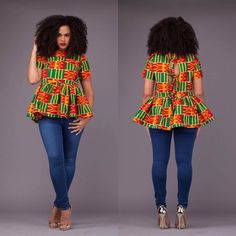 Gesse Top African Fashion