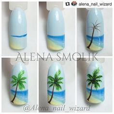 #Repost @alena_nail_wizard with @repostapp ・・・ Простой мини МК #mk_alenasmolik#мкногти