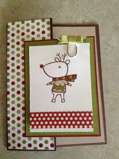 Color Me Christmas from Stampin' Up! Holiday mini 2013