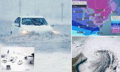 Powerful snowstorm hits eastern U.S., snarling travel
