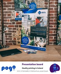 Pogo offers quality foam poster boards that are sure to make your content stand out Poster Boards, Urban Looks, Project Board, Exhibition Display, New Builds, Ireland, Recycling, Presentation