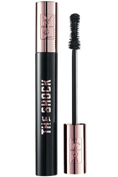 Why we love it: If you want darker, thicker lashes—this will be your new holy grail of mascaras. The inky black formula can get a little clumpy on its pursuit to volume (in a good way), but be warned if you like your lashes on the straight and narrow instead.  YSL The Shock Volumizing Mascara, $29, sephora.com.