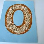 Alphabet Letter O Is For Oatmeal Craft! Alphabet Letter O Letter O Crafts, Abc Crafts, Alphabet Crafts, Alphabet For Kids, Alphabet Art, Crafts For Kids, Letter Art, Alphabet Soup, Toddler Crafts