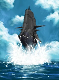 Flying Submarine By Nello Fontani