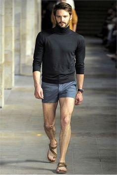 Who wears short shorts? Street Sense.   Style   Pinterest   Short ...