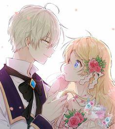 Athy x Ijekiel Kawaii Anime, Anime W, Anime Art Girl, Anime Girls, Anime Love Couple, Manga Couple, Cute Anime Couples, Neue Animes, Anime Triste