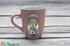Macis kislány bögre (vargazsuzsiekszer) - Meska.hu