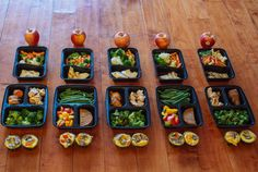 Every weekend, Social Media Specialist (and fitness fanatic) Amanda Meixner preps her meals and shares her photos on her Instagram account. Her simple phot