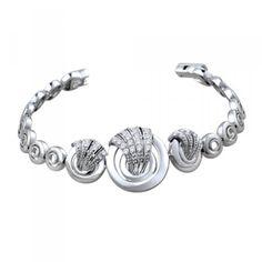 Peora | The Audrey Bangle - Bangles and Bracelets - Women's Jewellery - Jewellery | Fine Silver Jewellery
