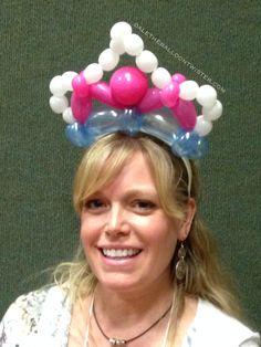 Balloon Tiara Hairband.