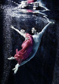 Vienna Opera Ballet Company - shot underwater.