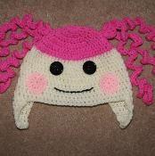Lalaloopsy Earflap Hat Age 2-6 years - via @Craftsy