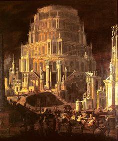 Monsú Desiderio - La Torre de Babel, 1630