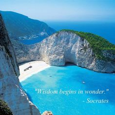 """Wisdom begins in wonder."" 