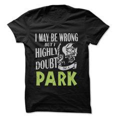 (New Tshirt Produce) PARK Doubt Wrong 99 Cool Name Shirt [Teeshirt 2016] Hoodies