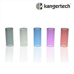 Personnalisez vos clearomiseurs KANGER MINI PROTANK 2 & 3 avec les tubes Pyrex colorés de remplacement! 5 couleurs au choix: bleu, noir, rouge, transparent et violet.