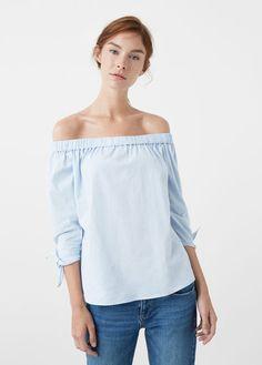 Maglietta spalle scoperte