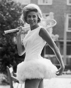Lea Pericoli the Italian tennis star of the 50s.