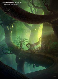Zendikar Forest - Tutorials