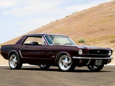1964 1/2 Ford Mustang Coupe....that is just a sweet car, and yes.....one day I WILL have one.....oh yeah!!!