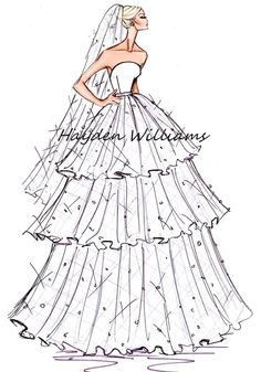Hayden Williams Bridal Couture collection finale
