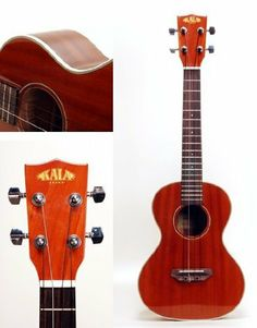 "Kala Glossed Mahogany Tenor Ukulele - KA-TG by Kala. $123.00. The Kala Mahogany Series Ukulele offers a full-bodied tone with plenty of ""sweet highs"" and ""mellow lows"" that combine for a full, rich sound. Traditional white binding on the top and the back accents the rich satin mahogany finish, while chrome die-cast tuners assure your instrument will stay in tune.. Save 30% Off!"