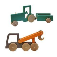 Manny & Simon wooden toys