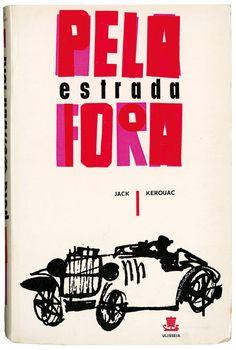 Pela estrada fora, Jack Kerouac, Editora Ulisseia, design Paulo-Guilherme, 1960