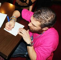 Dear Catherine, I love you so much and long for you daily when we are apart....blah blah blah... With all my heart,  Thomas <3 ........just my boyfriend writing me a letter. Haha