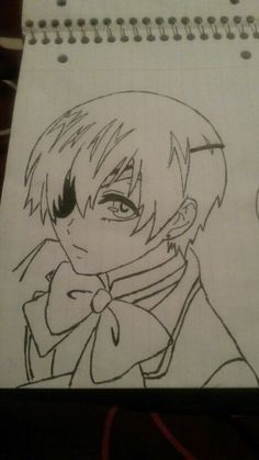 My drawing of Ciel Phantomhive