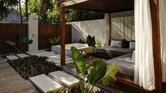 Park Hyatt Maldives Hadahaa: The Eco-Luxury Seaside Resort - The Vidhun Spa © Park Hyatt Maldives Hadahaa Hba Design, Maldives Resort, Resort Spa, Fashion Magazin, Seaside Resort, House Elevation, Hotel Interiors, Hotels And Resorts, Outdoor Living