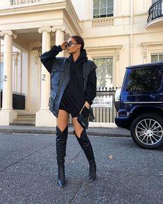 i love fashion Dope Fashion, Fashion Killa, Colorful Fashion, High Fashion, Fashion Outfits, Fashion Night, Winter Fashion Boots, Celebrity Outfits, Winter Outfits