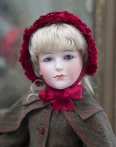 """18"""" (46 cm) Very-very Rare Antique An Outstanding Art Character German Bisque Lady Doll, 213, by Bawo & Dotter, A LAYAWAY!"""