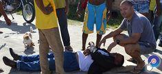 Acidente entre motos deixa um ferido em Prado