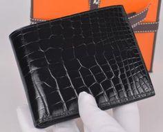 hermes crocodile wallet