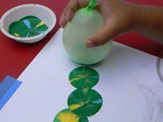 Fotografías y enlaces a diferentes páginas con ideas para estampar en tela o en papel utilizando diferentes materiales.