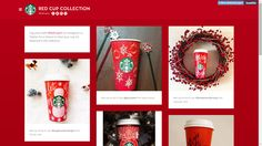 Starbucks Red Cup Collection Contest invites creativity into the brand's iconic packaging #WGBD