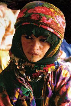 Africa   Berber Women with Facial Tattoos. High Atlas mountains, Morocco   ©Rosemary Sheel