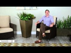 Veradek Midland Tall Square Planter - Product Review Video - YouTube