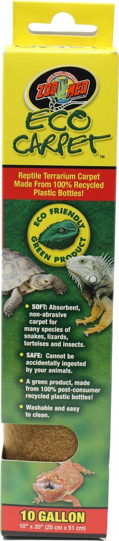 Zoo Med Laboratories Inc Eco Carpet Reptile Terrarium Liner Goruntuler Ile Terrarium