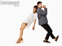 Beauty and the Beast's Kristin Kreuk and Jay Ryan. IMAGE CREDIT: MICHAEL MULLER FOR EW -- Copyright © 2013 Entertainment Weekly Inc. All rights reserved.