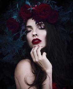 Dark Beauty and Fine Art Portrait Photography by Kenul Rustamova #photography