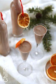 likier czekoladowo-pomarańczowy a'la Baileys trufla pomarańczowa