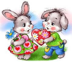 Easter Bunny Pictures, Easter Wallpaper, Children Sketch, Cute Clipart, Cute Bunny, Painting For Kids, Cute Illustration, Fabric Painting, Colorful Pictures