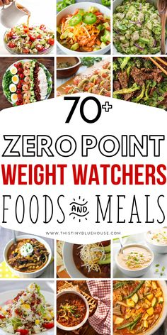 Zero Point Weight Watchers Food Ideas 75 MUST TRY Zero Point Weight Watchers Food and recipe ideas that are sure to make sticking to your diet an absolute breeze. From apps to soups and lunches, dinners and even desserts these recipes are a must for anyon Weight Watcher Desserts, Weight Watchers Snacks, Weight Watcher Dinners, Plats Weight Watchers, Weight Watchers Meal Plans, Weight Watchers Free, Weight Loss Meals, Weight Loss Drinks, Fat Burning Foods