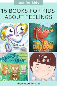 15 Books for Kids About Feelings is part of Kids behavior - Little kids have big feelings! Check out these books for kids about feelings to encourage your child to read and learn to manage their big emotions Learning Activities, Activities For Kids, Good Books, Books To Read, Social Emotional Learning, Teaching Emotions, Teaching Kids, School Social Work, Feelings And Emotions