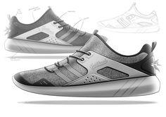 Trailhead sneakers on Behance